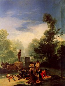 Asalto al Coche [Attack on the Coach] by Francisco Goya
